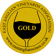 East Anglian Vineyard Association Wine of the Year gold medal winner